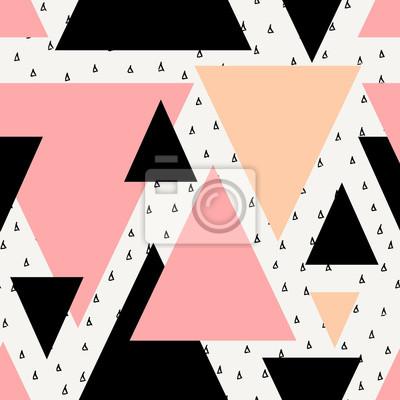 Fototapeta Streszczenie geometryczny wzór bez szwu