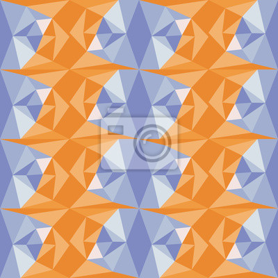 Fototapeta Streszczenie geometryczny wzór. Wektor wielokątne tła.