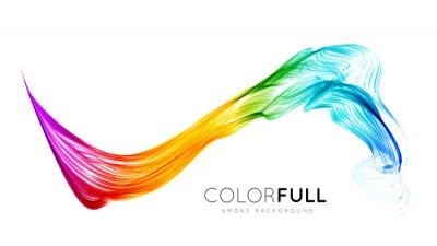 Fototapeta Streszczenie kolorowe tło.