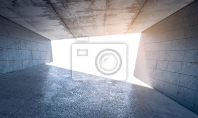streszczenie pokój betonu