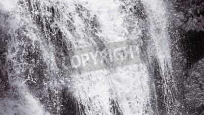 Fototapeta Streszczenie tekstury tła trudno Wodospad