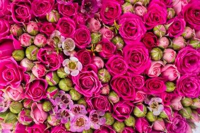 Fototapeta Streszczenie tle kwiatów.