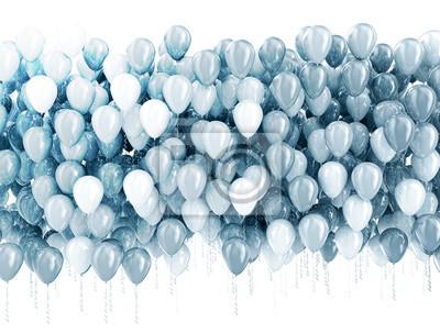 Fototapeta Strona balony tle