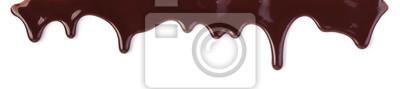 Fototapeta strumienie czekoladowe