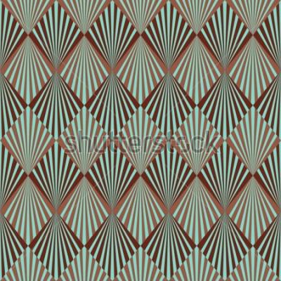 Fototapeta Styl tekstura wzór Art Deco