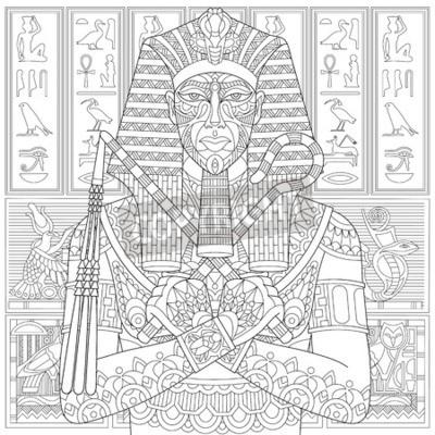 Top Faraon Kolorowanka Najlepsze Kolorowanki Strony