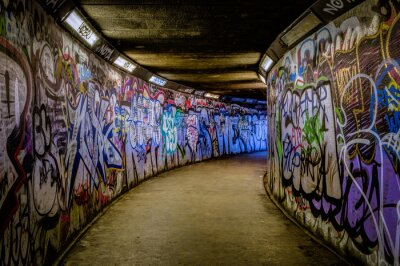 Fototapeta Subway Graffiti