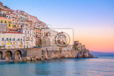 Fototapeta Sunset at Amalfi