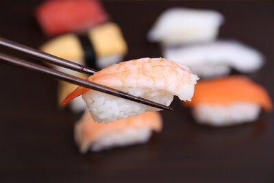 Fototapeta sushi japońskie jedzenie