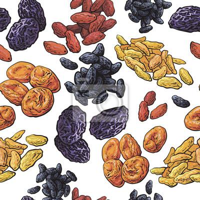 suszone owoce do montażu