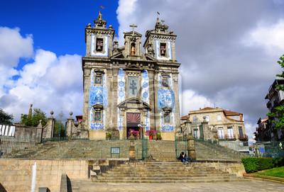 Fototapeta Św Ildefonso Kościół, Porto, Portugalia