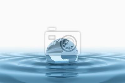 Fototapeta świat świata i wody