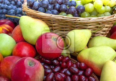 Fototapeta Świeże owoce organiczne