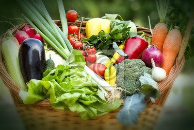 Fototapeta Świeże warzywa ekologiczne