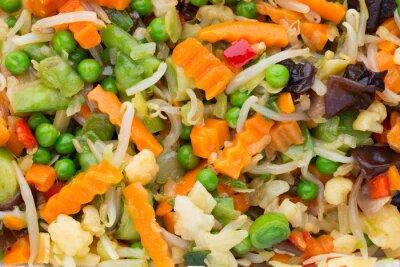 Świeże warzywa mrożone eko jedzenie, natur.