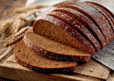 Fototapeta świeży chleb żytni