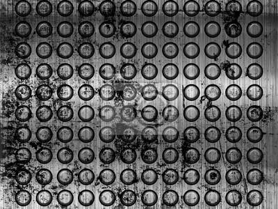 Fototapeta szablon metalu