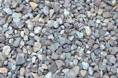 Fototapeta Szare-niebiesko-białe kamienie wzór, kamień tle