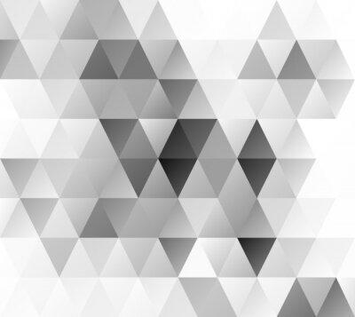 Fototapeta Szare tło mozaiki siatki, pień Szablony projektów