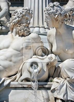 Szczegóły Athene Fontanna w Wiedniu
