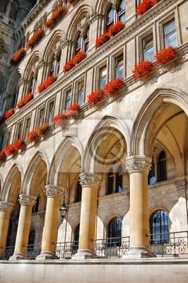 Szczegóły Ratusz w Wiedniu, Austria