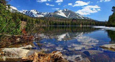 Szczyrbskie Pleso - tarn w Tatrach Wysokich na Słowacji