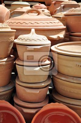 Fototapeta Tanie Doniczki Ceramiczne Wykonane W Górach Zlatibor