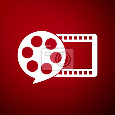 Czerwony film wideo