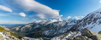 Fototapeta Tatry czarownica piękne chmury