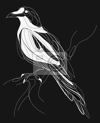 Fototapeta Tatuaż Ilustracji Wektorowych