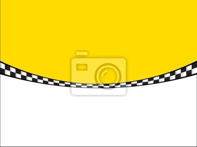 Fototapeta Taxi Taxi Visitenkarte Wizytówka Nr 3