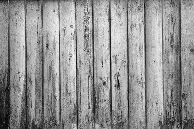 Fototapeta teksturą tle starych desek. Czarno-białe