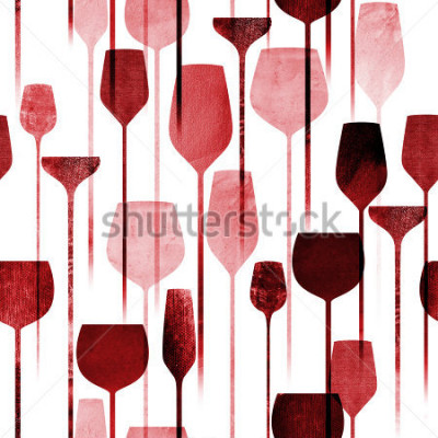 Fototapeta Teksturowane kolaż strony sztuki napojów wzór, koncepcyjne kolorowe napoje alkoholowe powtarzające tło dla sieci i celu drukowania.