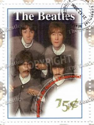 Fototapeta The Beatles - 1960 słynny musical grupy pop
