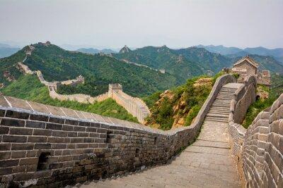 Fototapeta The Great Wall, Pekin, Chiny