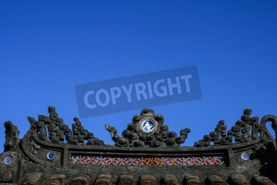 Fototapeta the temple in Hoi An ancient town,vietnam