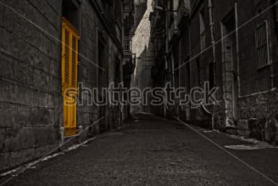 Fototapeta The Yellow Door