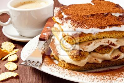Fototapeta Tiramisu ciasto