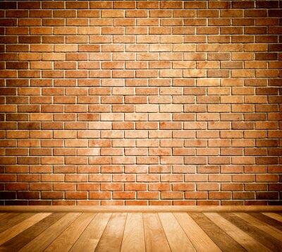 Fototapeta Tle ceglanego muru.