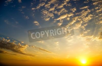 Fototapeta Tle nieba na wschodzie Skład charakter