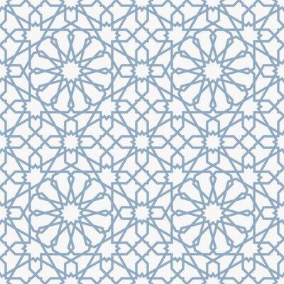 Fototapeta Tło z bez szwu deseń w stylu islamskim