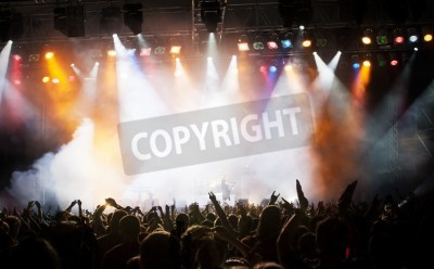 Fototapeta Tłum na koncercie