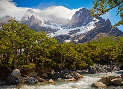 Fototapeta Torres del Paine. Patagonia, Chile