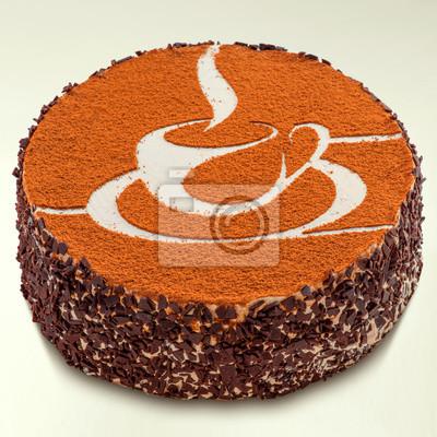 Fototapeta tort Tiramisu