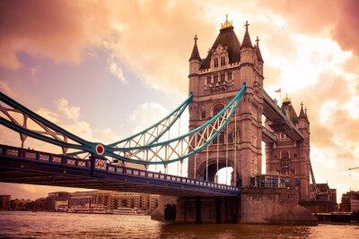Fototapeta Tower Bridge London, UK