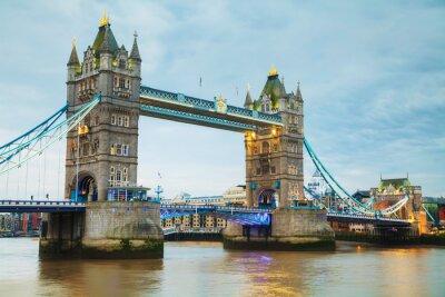 Fototapeta Tower Bridge w Londynie, Wielka Brytania