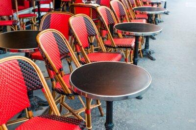 Fototapeta tradycyjny paryski kawy