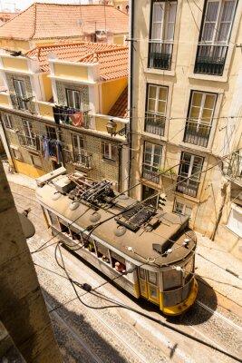 Fototapeta Tramwaj na ulicy