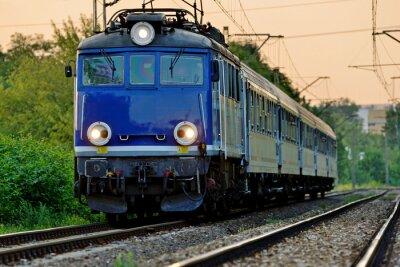 Fototapeta transport kolejowy