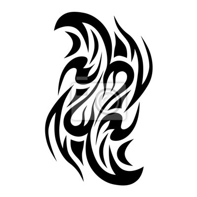 Fototapeta Tribal Wzory Tribal Tatuaże Art Plemiennych Tatuaż Wektor